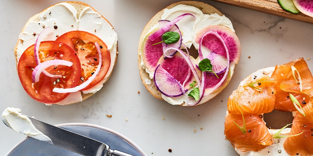 GVC Callout Bagel with Lox