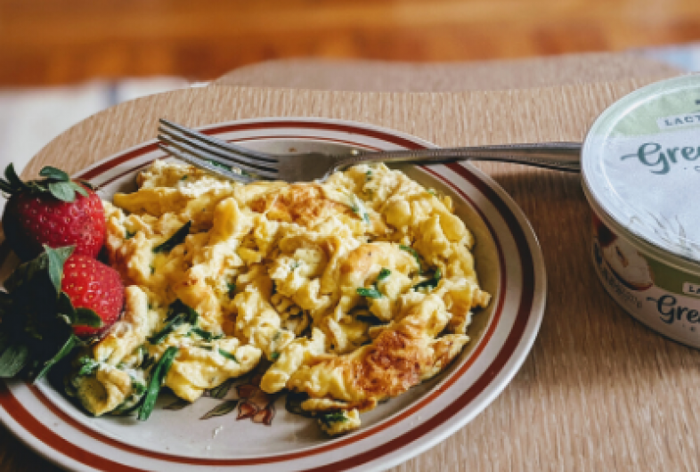 Melt in Your Mouth Scrambled Eggs