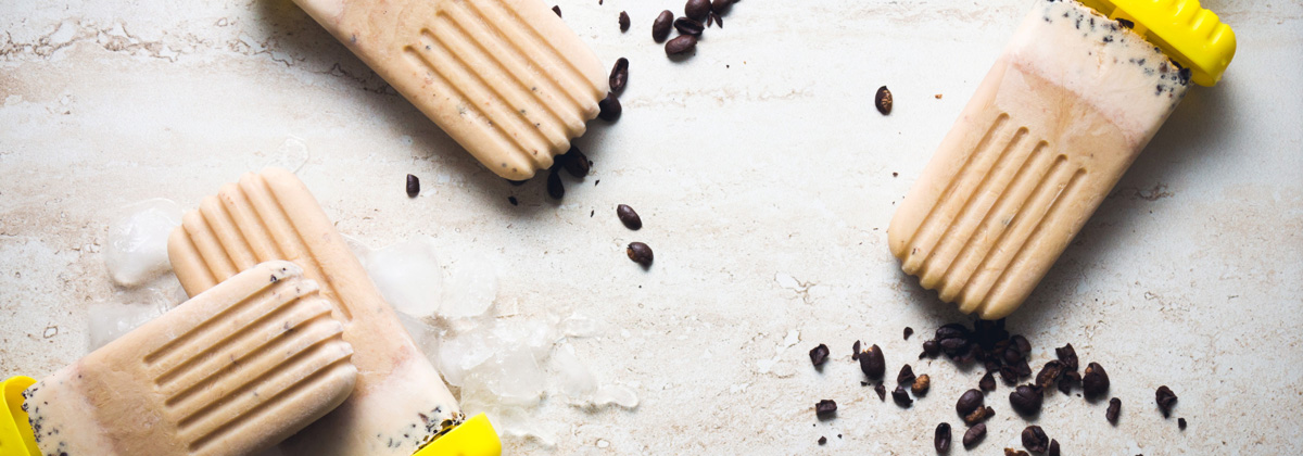 Recipes Desserts Iced Coffee Pops Banner